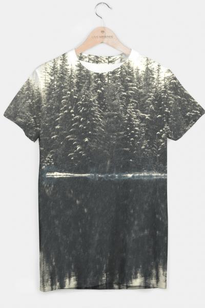Vintage Forest T-shirt, Live Heroes