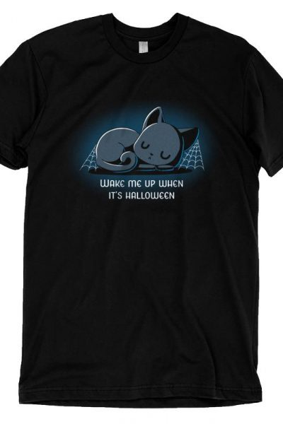Wake Me Up When It's Halloween | Funny, cute & nerdy shirts – TeeTurtle
