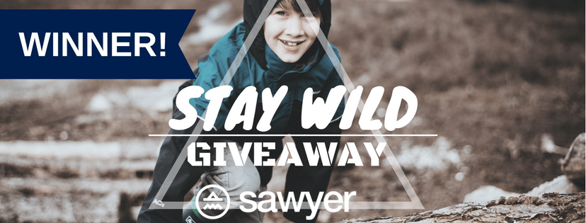 Announcing the WINNER of the Sawyer 'Adventure Kit' Giveaway!