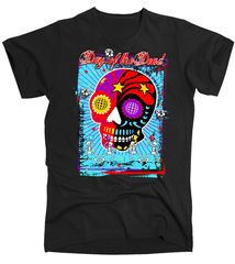 Day of the Dead Slim Fit T-Shirt | TeeShirtPalace