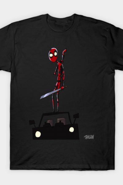 Deadpool Tim Burton Style T-Shirt