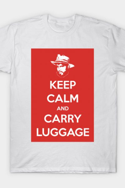 Keep Calm & Carry Luggage T-Shirt
