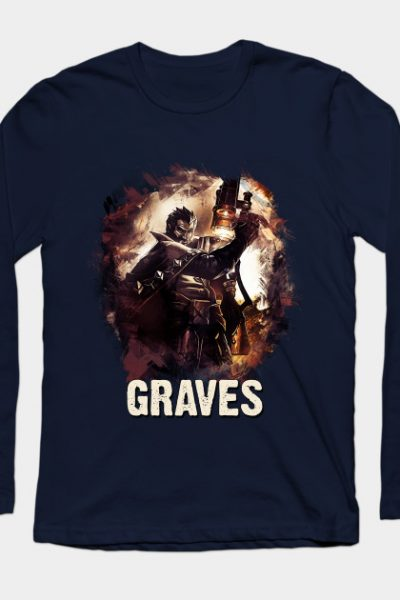 League of Legends GRAVES Long Sleeve T-Shirt