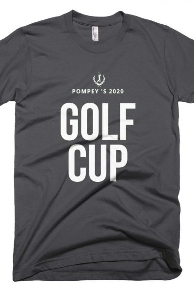 Mens Golf Cup Short-Sleeve T-Shirt