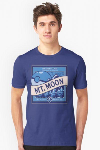 Mt. Moon Pokemon Beer Label