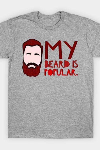 Popular Beard T-Shirt