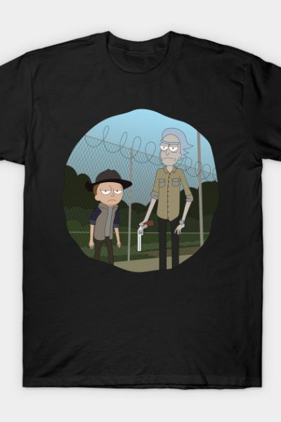 Rick and Morty – TWD Crossover T-Shirt