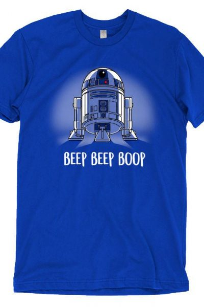 Beep Beep Boop (R2-D2) T-shirt | Official Star Wars Tee – TeeTurtle