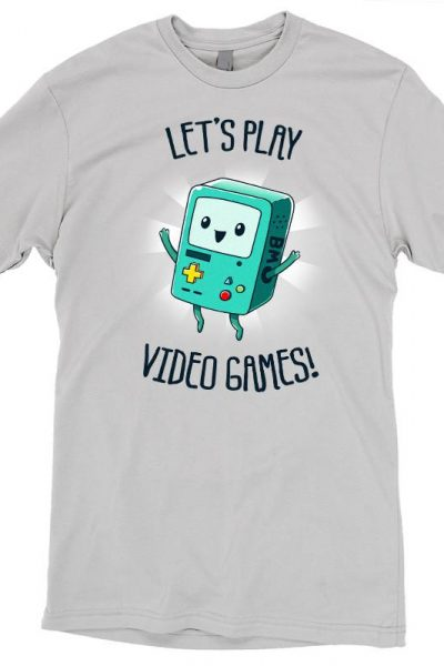 BMO Let's Play Video Games! T-Shirt | Official Adventure Time Tee – TeeTurtle