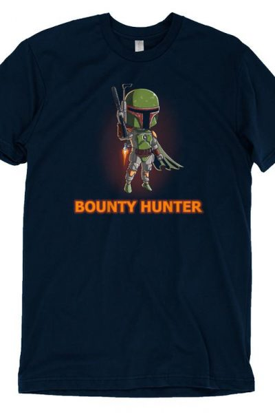 Boba Fett Bounty Hunter T-Shirt | Official Star Wars Tee – TeeTurtle