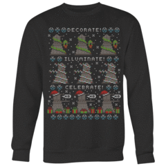 Dalek Xmas Ugly Christmas Sweater – Curious Rebel