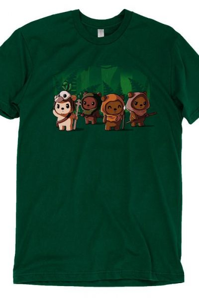Ewoks T-shirt | Official Star Wars Tee – TeeTurtle
