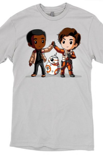 Finn & Poe High Five! T-shirt | Official Star Wars Tee – TeeTurtle