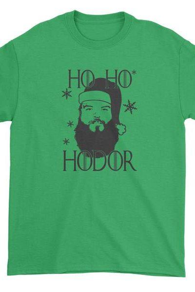 Ho Ho Hodor Christmas Mens T-shirt