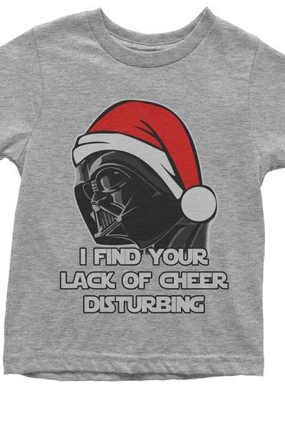 I Find Your Lack Of Cheer Disturbing Youth T-shirt