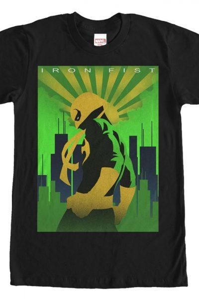 Marvel – Iron Fist Adult Regular Fit T-Shirt
