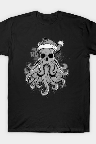 Merry Cthulmas – A Very Merry Cthulhu Christmas T-Shirt