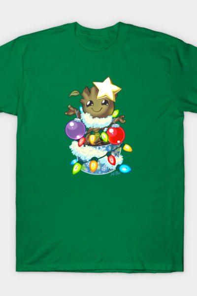 O' Christmas Groot T-Shirt