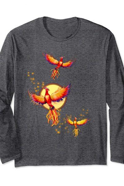 Phoenix Birds Rising Long Sleeve