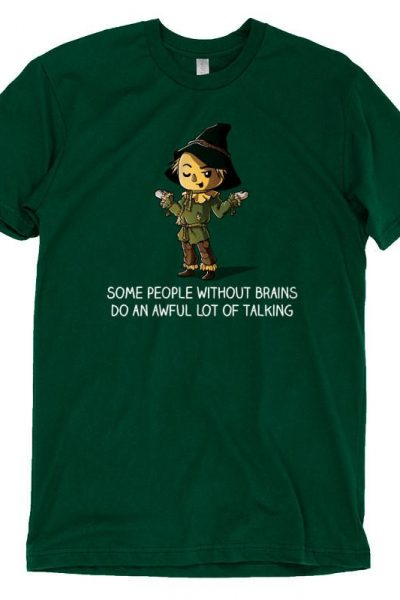 Scarecrow Brainless T-Shirt | Official Wizard of Oz Tee – TeeTurtle