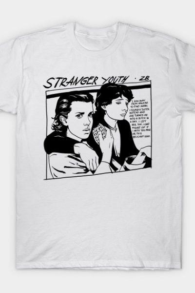 Stranger Youth White T-Shirt