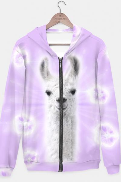 Superstar Llama Hoodie, Live Heroes