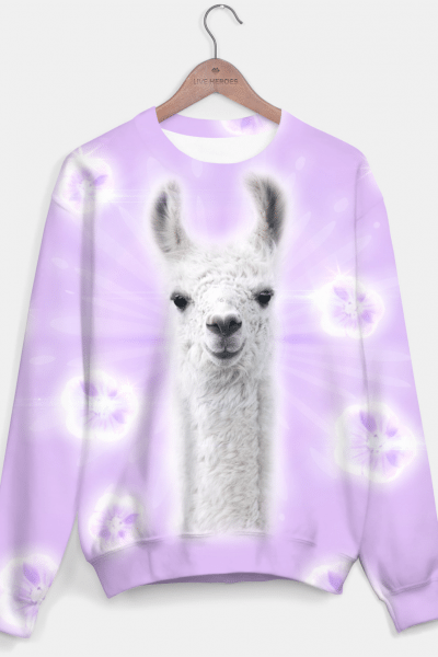 Superstar Llama Sweater, Live Heroes