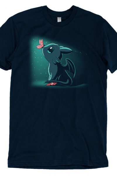 Toothless Butterfly Kisses T-Shirt | Official How to Train Your Dragon Tee – TeeTurtle
