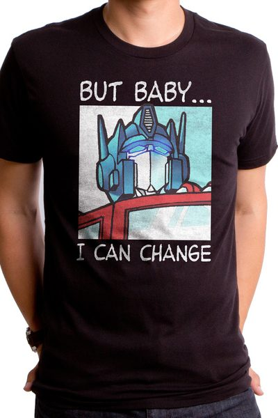 Transformers Changed It Up Men's T-Shirt