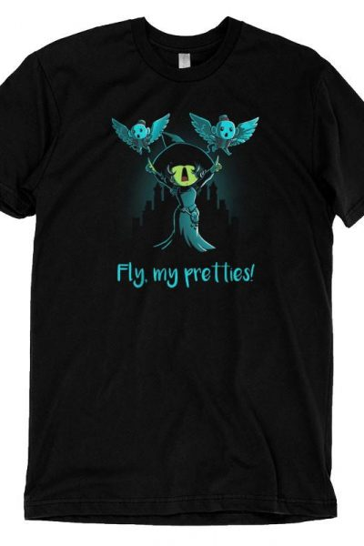 Wicked Witch Fly, My Pretties! T-Shirt | Official Wizard of Oz Tee – TeeTurtle