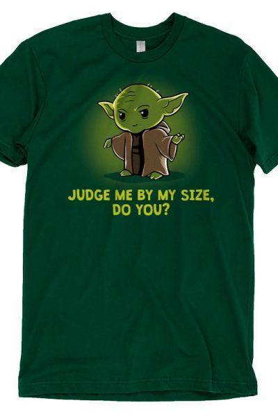 Yoda Size Matters Not T-Shirt | Official Star Wars Tee – TeeTurtle