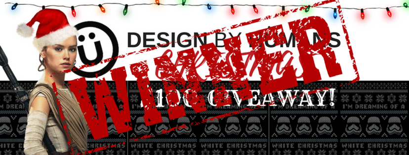 Announcing the WINNER of the Design By Humans $100 Christmas Giveaway!