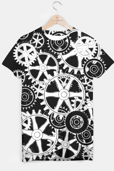 GEARS T-shirt, Live Heroes