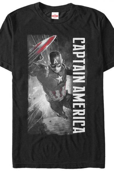 Marvel – CAP Adult Regular Fit T-Shirt