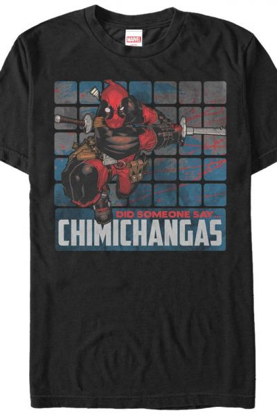 Marvel – Chimichangas Adult Regular Fit T-Shirt