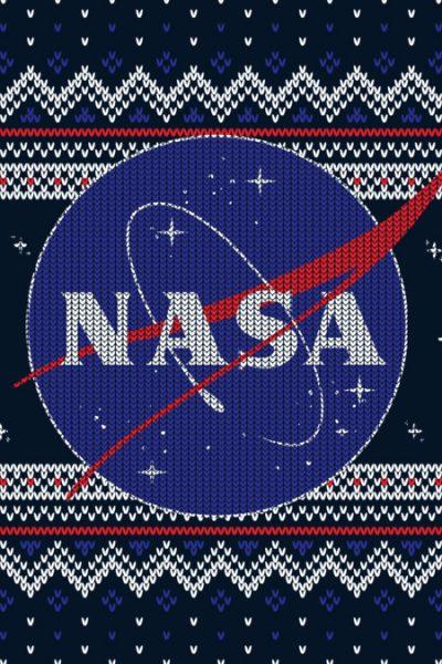 NASA Logo Christmas Sweater T Shirt By NASA Design By Humans