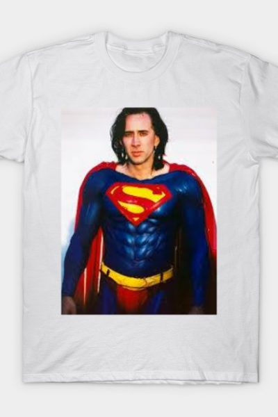 Nic Cage is Superman T-Shirt