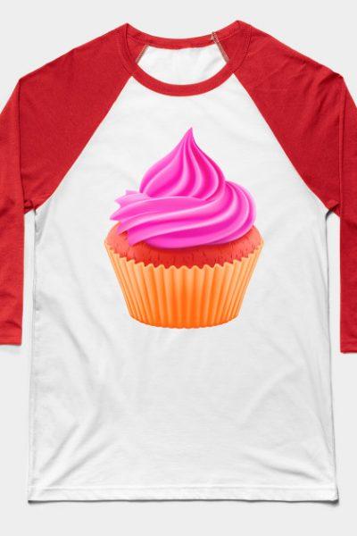 RED VELVET CUPCAKE Baseball T-Shirt