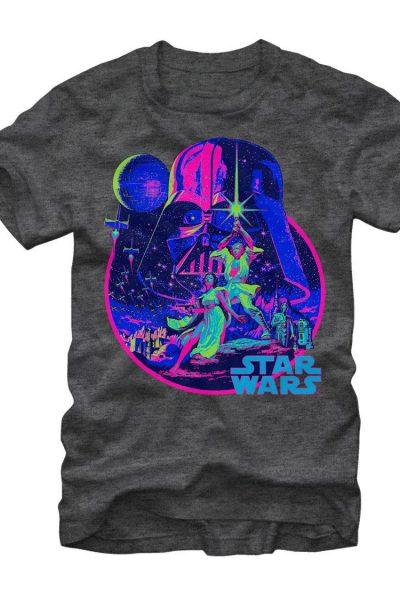Star Wars – Acid Dawn Adult Regular Fit T-Shirt
