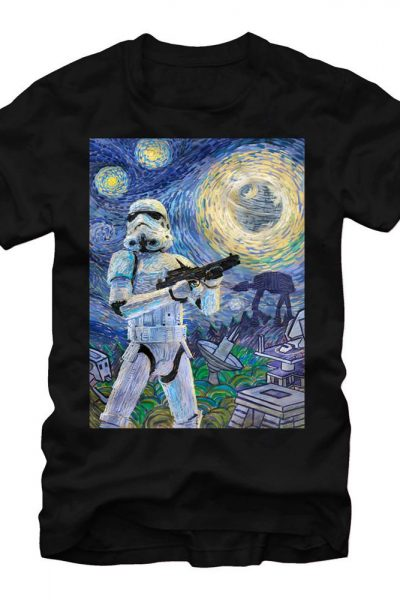 Star Wars – Stormy Night Adult Regular Fit T-Shirt