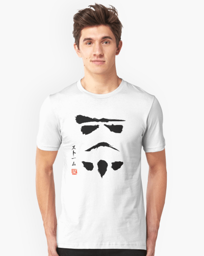 Star Wars Stromtrooper Minimalistic
