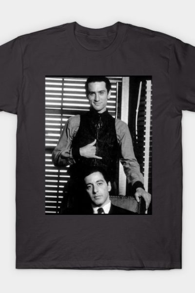 The Godfather- Deniro and Paciono T-Shirt