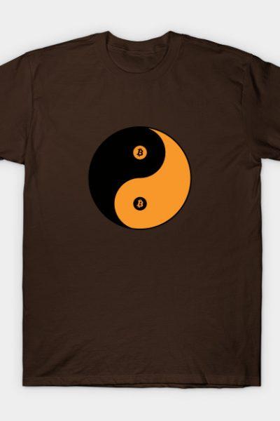 Bitcoin Yin Yang T-Shirt