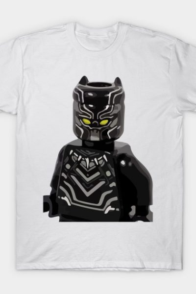 Black Panther Lego T-Shirt