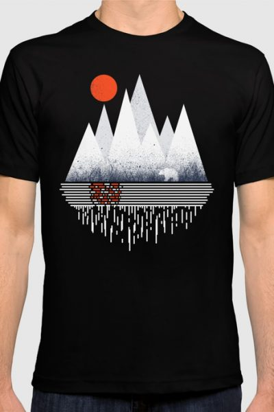Chill of Winter T-shirt by therocketman