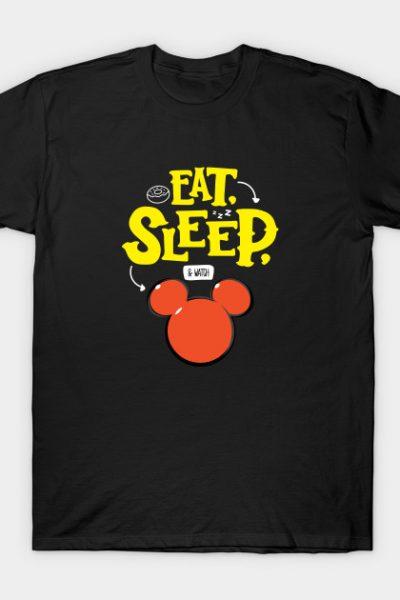 Eat, Sleep and watch Disney T-Shirt