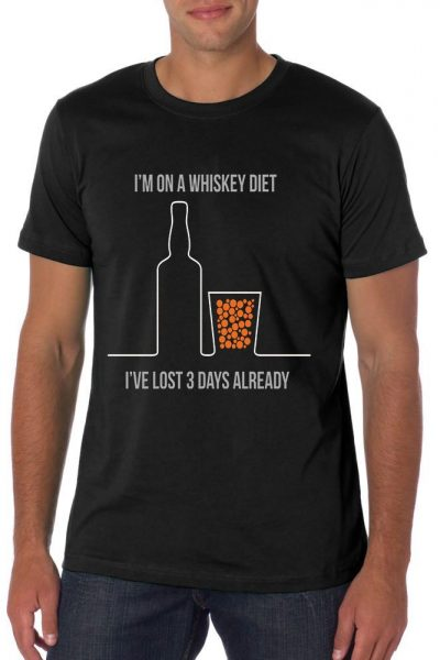 I'm On A Whiskey Diet T-shirt