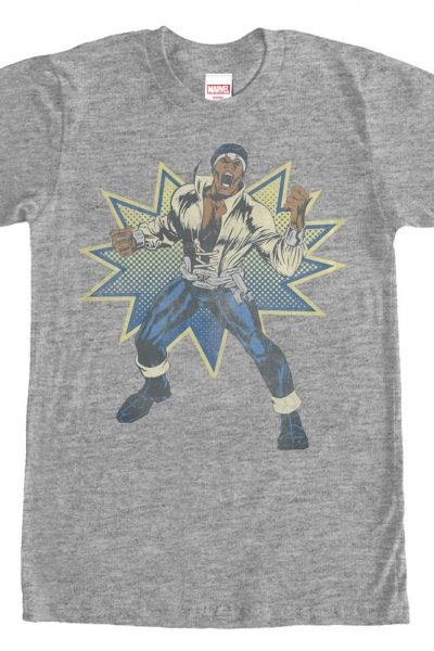 Marvel – Power Man Adult Regular Fit T-Shirt