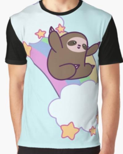 Rainbow Cloud Sloth