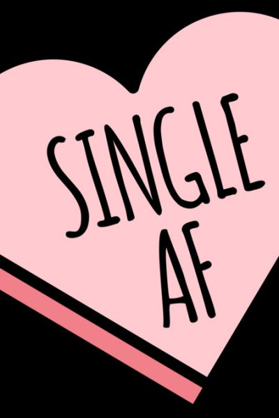 Single AF Shirt | Funny Valentine's Candy Heart T Shirt